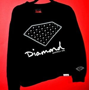 Diamond Supply Co crew neck small